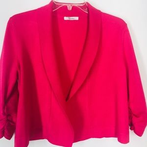 89th and Madison Neon Pink Cardigan medium